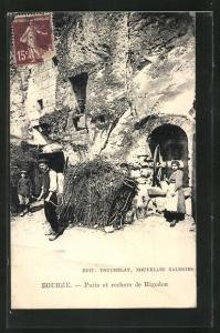 AK Bourre, Puits et Rochers de Rigodon