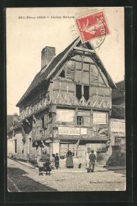 AK Selles-sur-Cher, Vieilles Maisons