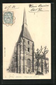 AK Onzain, L`Église, Ansicht der Kirche