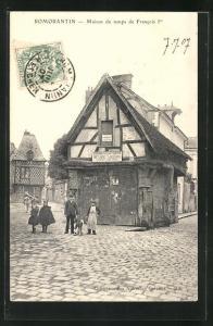 AK Romorantin, Maison du temps de Francois Ier