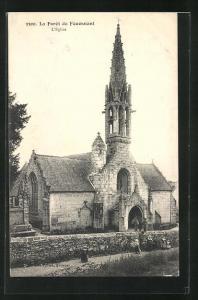 AK Le Forêt de Fouesnant, L`Eglise, Kirche