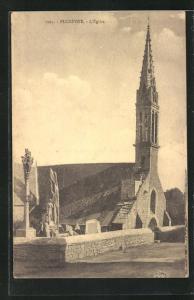 AK Plozévet, L`Église, Kirche