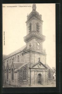 AK Chateauneuf, L`Eglise Saint-Julien, Kirche