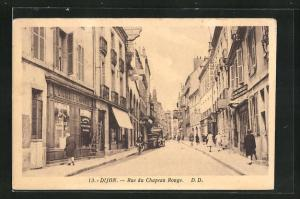 AK Dijon, La rue de la Liberté, Strassenpartie, Rue du Chapeau Rouge, Strassenpartie