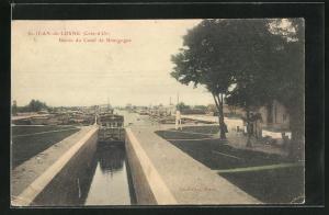 AK St-Jean-de-Losne, Bassin du Canal de Bourgogne