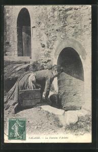 AK Falaise, La Fontaine d`Arlette