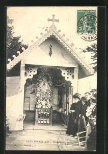 AK Tilly-sur-Seulles, Chapelle du Champ