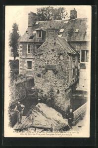 AK Vire, La Maison d`Olivier Basselin, Poete du XVe siecle, Ses Chansons publiees en 1610