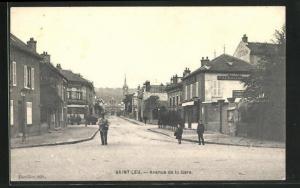 AK Saint-Leu, Avenue de la Gare