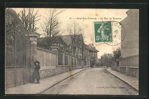 AK Saint-Leu-Taverny, La Rue de Pontoise