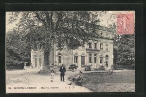 AK Montmorency, Mairie, entree