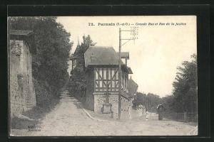 AK Parmain, Grande Rue et Rue de la Justice, Strassenpartien