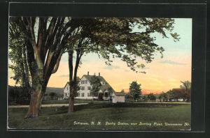 AK Goffstown, NH, Shirley Station, near Starting Point, Uncanoonue Mt.