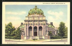 AK Winchester, VA, The Handley Library