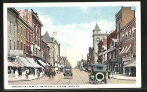 AK Newport News, VA, Washington Avenue, Looking North