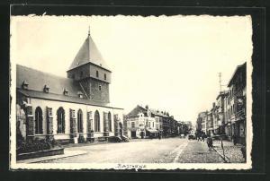 AK Bastogne, L`Eglise St-Pierre, Kirche