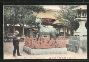 AK Nagasaki, Holy Bronze Horse at Suwa Temple