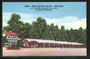 AK Claxton, GA, New Rest haven Motel