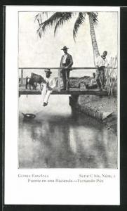 AK Fernando Póo, Puente en una Hacienda