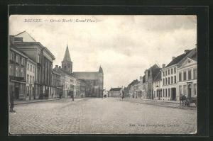 AK Deinze, Groute Markt, Grand place