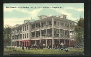 AK Covington, LA, The Dormitory and Dining Hall, St. Paul`s College