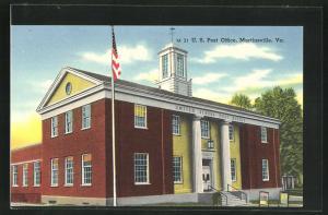 AK Martinsville, VA, U.S. Post office