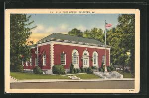 AK Culpeper, VA, U.S. Post office