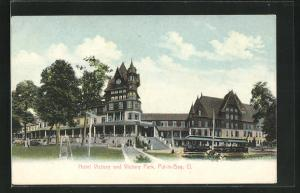 AK Put-in-Bay, OH, Hotel Victory and Victory Park