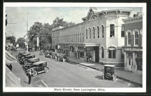 AK New Lexington, OH, Main Street