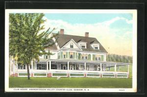 AK Gorham, NH, Club House, Androscoggin Valley Country Club