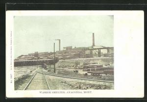 AK Anaconda, MT, Washoe Smelter