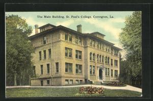 AK Covington, LA, the Main Building, St. Paul's College