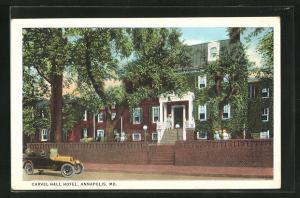 AK Annapolis, MD, Carvel Hall Hotel
