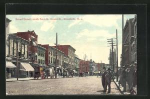 AK Elizabeth, NJ, Broad Street, south from E. Grand St.
