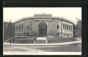 AK East Orange, NJ, Free Public Library