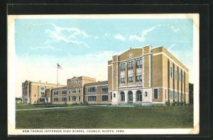 AK Council Bluffs, IA, New Thomas Jefferson High School