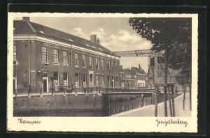 AK Kampen, Brücke an der Jugenherberge