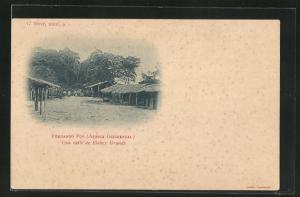 AK Fernando Poo, Una calle de Elobey Grande