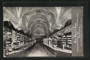 AK San Francico, LA, Geo. Haas & Sons, Phelan Building Candy Store