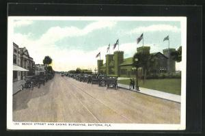 AK Daytone, FL, Beach Street and Casino Burgoyne