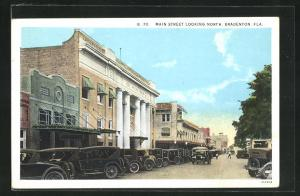 AK Bradenton, FL, Main Street Looking North, Autos