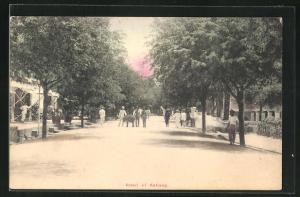 AK Sabang, Road