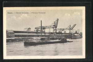 AK Zelzate, Fabriek Kuhlmann, Hafenpartie