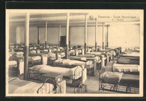 AK Florennes, Ecole Apostolique, Dortoir