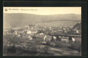 AK Alle s/Semois, Panorama pris du champ Jacob