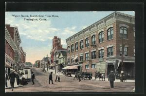 AK Torrington, CT, Water Street, North Side from Main