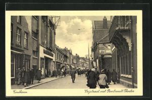 AK Einhoven, Vrijstraat met Rembrandt Theater