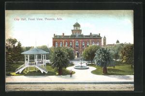 AK Phoenix, AZ, City Hall, Front View