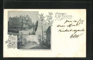 AK Atlanta, GA, Kimbal House, Peachtree Street from Ellis Street the Majestic