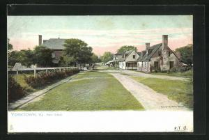 AK Yorktown, VA, Houses in Main Street